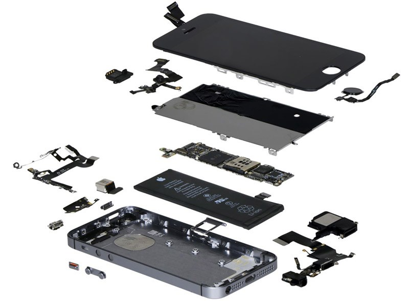 iPhone-SE-exploded-view