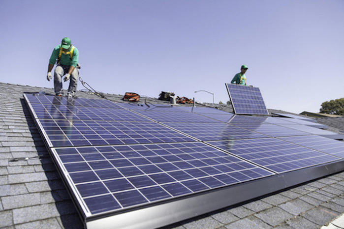 SolarCity solar power